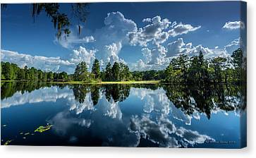 Southern States Canvas Print - Summer Of Calm by Marvin Spates