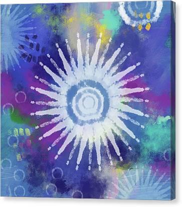 Dye Canvas Print - Summer Of Love 2- Art By Linda Woods by Linda Woods