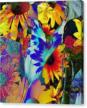 Summer Of Love Canvas Print by Patric Carter