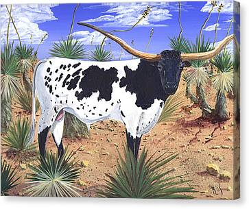 Summer On The High Mesa Canvas Print by Dan RiiS Grife