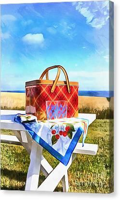 Summer Picnic Acrylic Canvas Print
