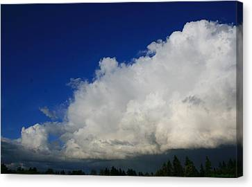 Summer Rains Over Mill Creek Canvas Print by Karl Reid