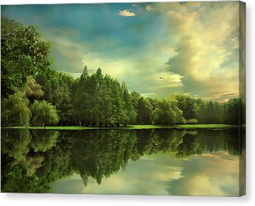 Summer Reflections Canvas Print by Jessica Jenney