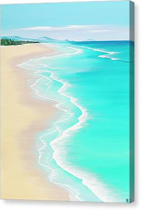Summer Rendezvous Canvas Print by Colin Perini