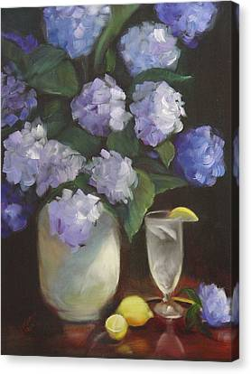 Summer Reprieve Canvas Print by Melanie Miller Longshore
