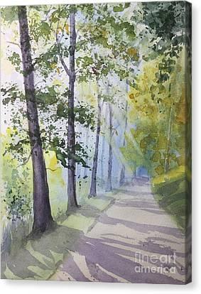 Summer Road Canvas Print by Yohana Knobloch