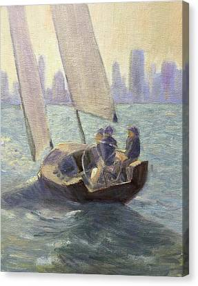 Summer Sail Canvas Print