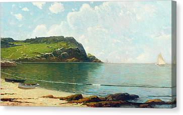 Reflected Canvas Print - Summer Sailing by Alfred Thompson Bricher