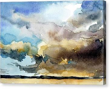 Summer Sandstorm Canvas Print by Stephanie Aarons