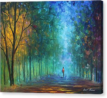 Summer Scent Canvas Print by Leonid Afremov
