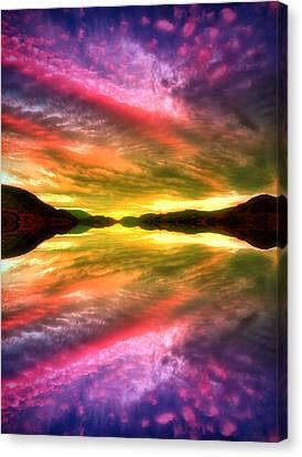 Summer Skies At Skaha Canvas Print