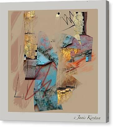 Summer Slumber 1 Canvas Print by Janis Kirstein