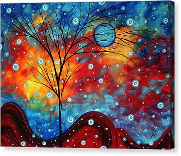 Summer Snow By Madart Canvas Print