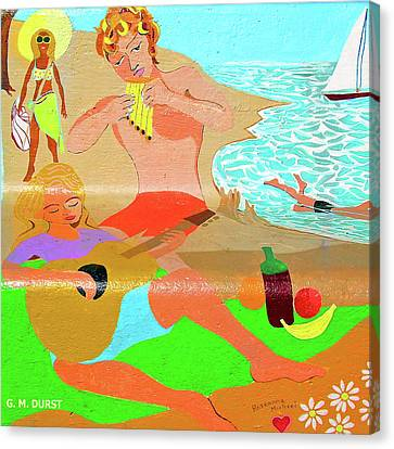 Summer Song Canvas Print by Michael Durst