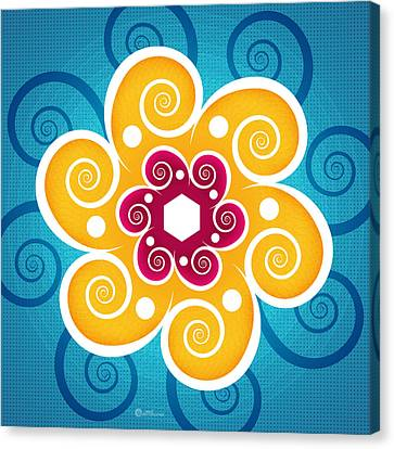 Summer Spiral Canvas Print by Soul Structures