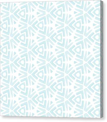 Summer Splash- Pattern Art By Linda Woods Canvas Print