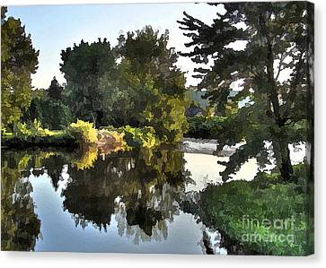 Canvas Print featuring the photograph Summer Still by Betsy Zimmerli
