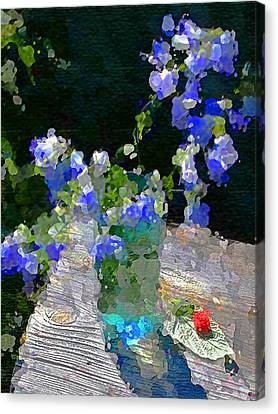 Canvas Print featuring the photograph Summer Still Life by Vladimir Kholostykh