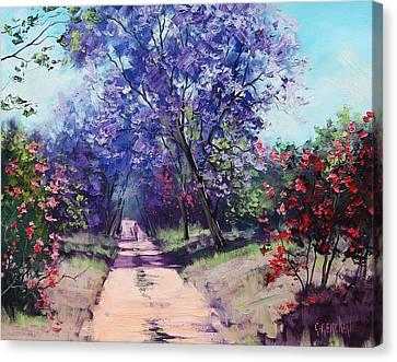 Summer Stroll Canvas Print by Graham Gercken