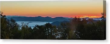 Summer Sunrise - Almost Dawn Canvas Print