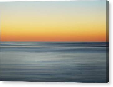 Summer Sunset Canvas Print by Az Jackson