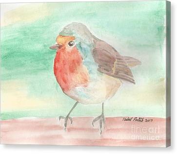Summer Time Robin Canvas Print by Isabel Proffit