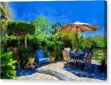 Summer Time Canvas Print by SM Shahrokni