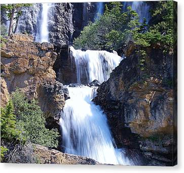 Canvas Print featuring the photograph Summer White Water by Al Fritz