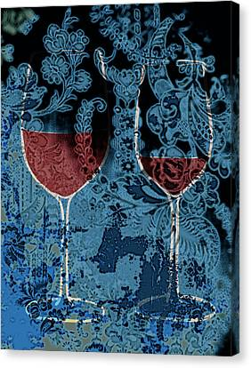 Summer Wine Canvas Print by Frank Tschakert