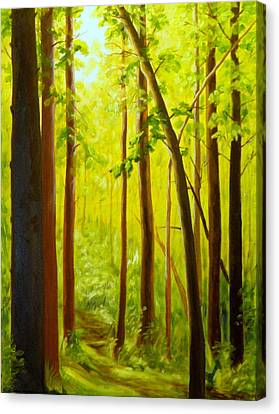 Summer Woods Canvas Print