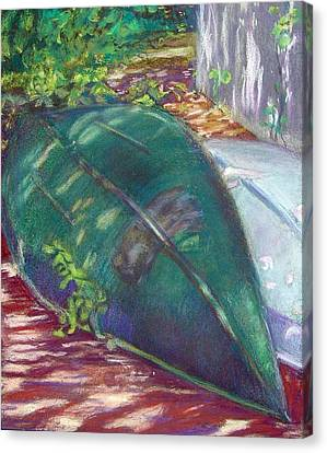 Summerime Overturned Canvas Print by Katherine  Berlin