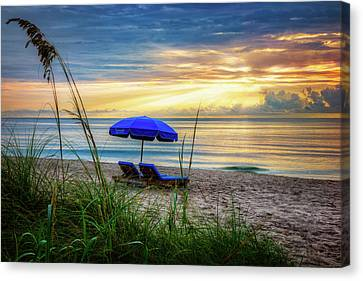 Canvas Print featuring the photograph Summer's Calling by Debra and Dave Vanderlaan