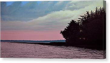 Summers Eve Canvas Print by Kenneth M  Kirsch