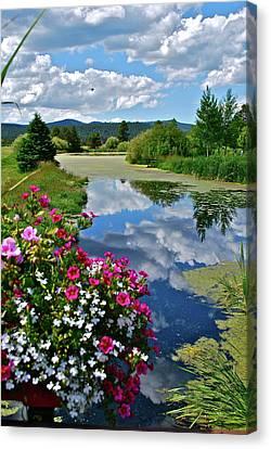 Sunriver Canvas Print - Summertime by Dorota Nowak