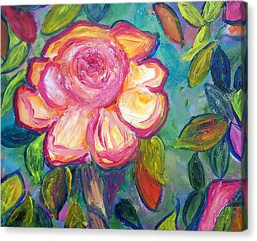 Patricia Taylor Canvas Print - Summertime Flower by Patricia Taylor