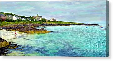 Summertime, Isle Of Iona Canvas Print