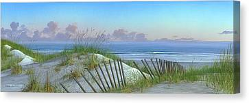 Summertime Canvas Print by Mike Brown