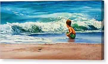 Summertime Pals Canvas Print by Bob Nolin