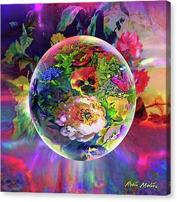 Orbs Canvas Print - Summertime Passing by Robin Moline