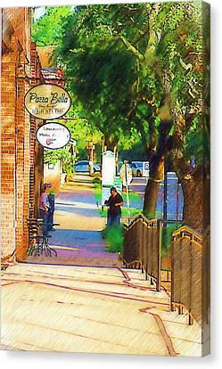 Summerville Sc Canvas Print by Donna Bentley
