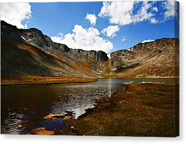 Mountains Canvas Print - Summit Lake Colorado by Marilyn Hunt