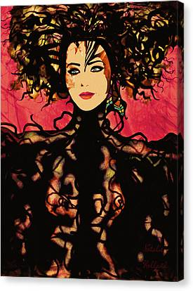 Sumptuous Elegance Canvas Print by Natalie Holland