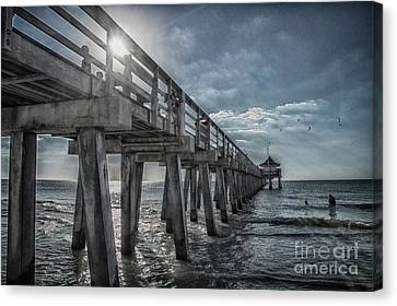 Sun And Fun In Naples Florida Canvas Print