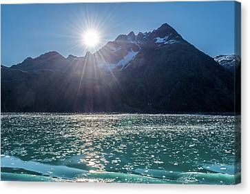 Sunshine And Ice Canvas Print
