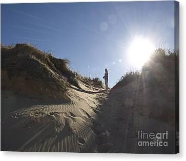 Canvas Print featuring the photograph Sun And Sand  by Tara Lynn