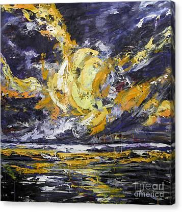 Sun And Sky Canvas Print by Debora Cardaci