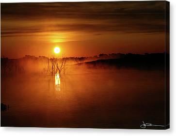Sun Birth Canvas Print