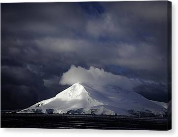 Sun Breakthru- Antarctica Canvas Print