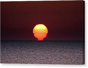 Sun Canvas Print by Bruno Spagnolo