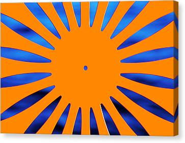 Sun Burst Canvas Print by Todd Klassy
